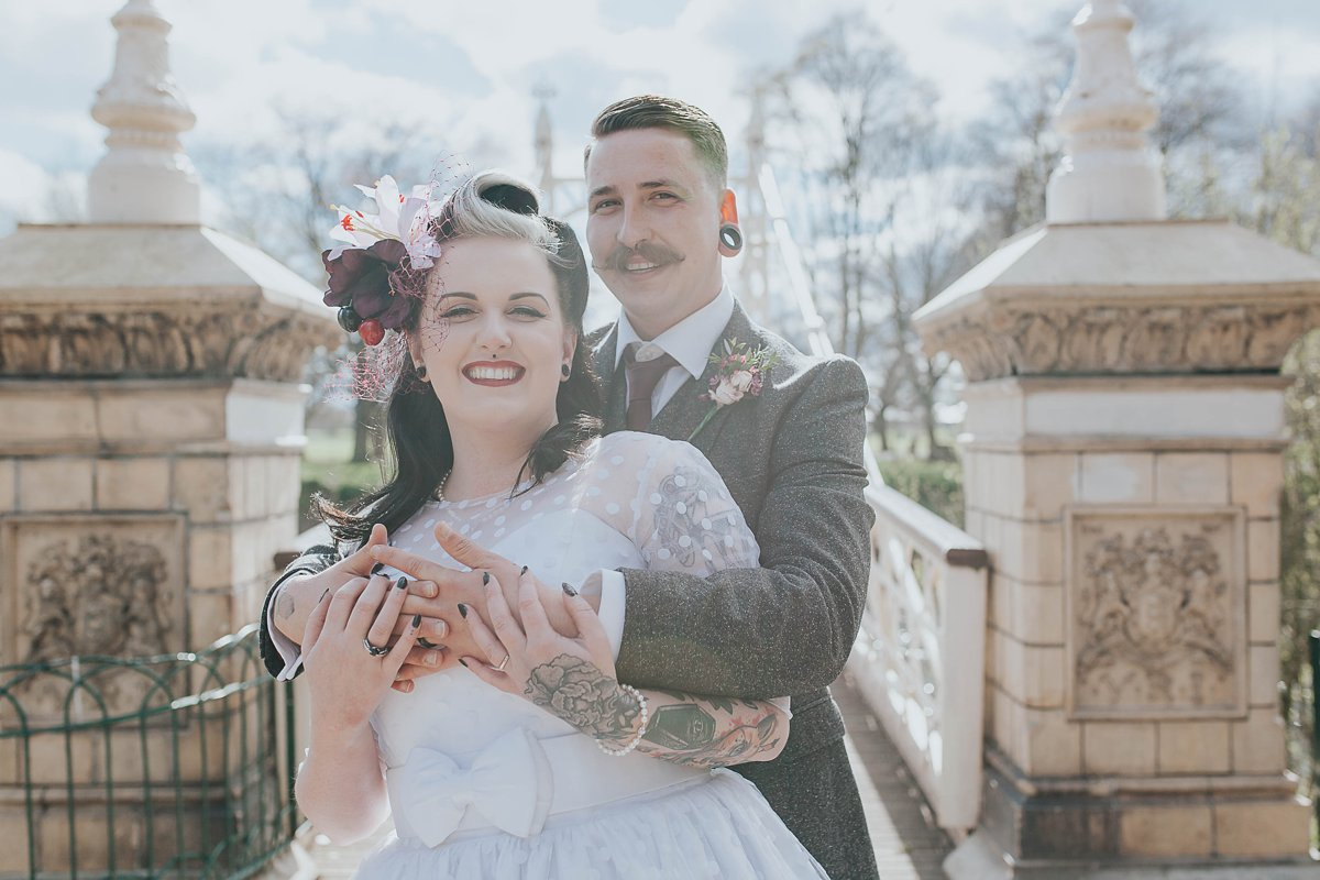 Hereford Alternative Wedding Photography, Creative Wedding Photography, Tattoo Wedding