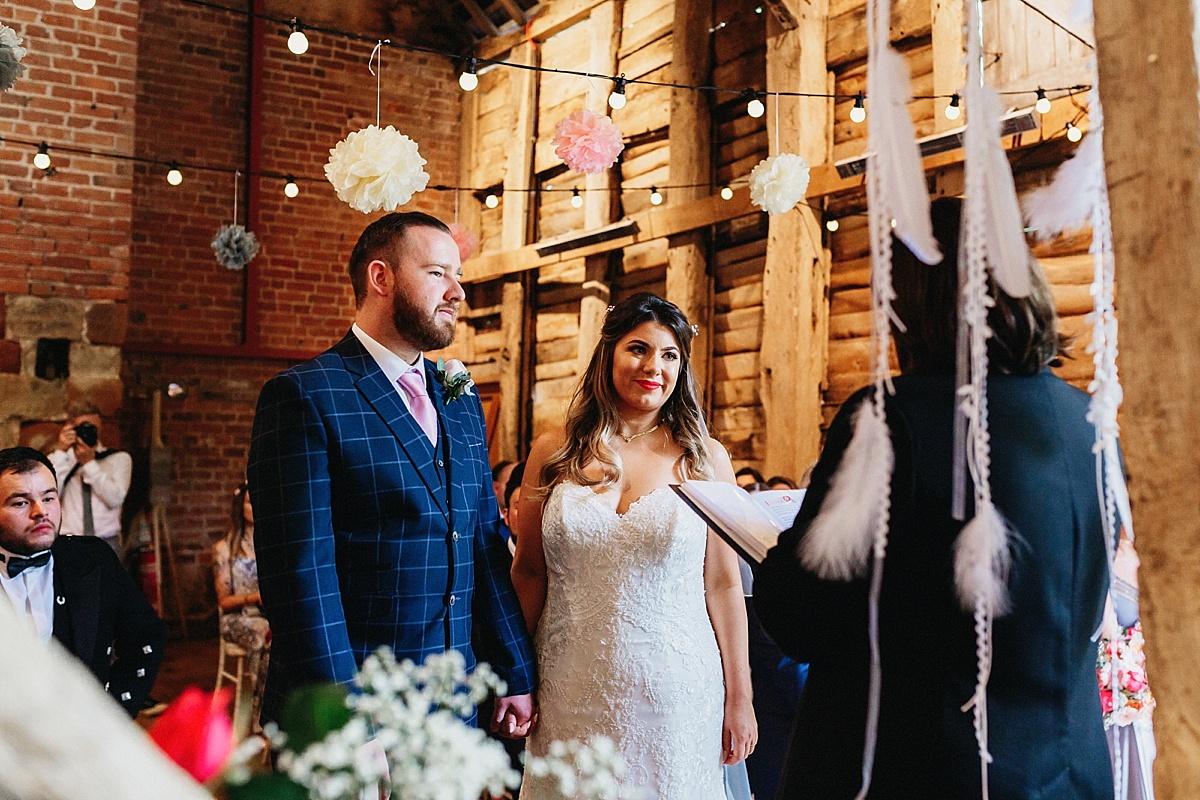 Pim Hill Barn Wedding