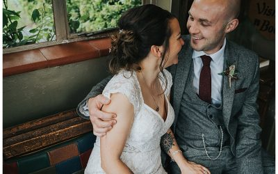 Trudy and Badger // The Hundred House Hotel Wedding, Shropshire