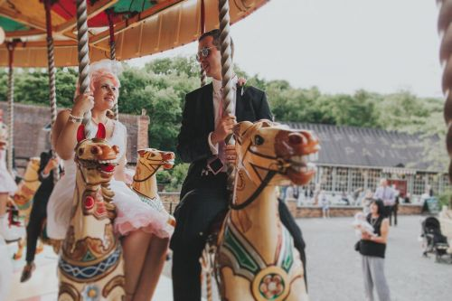 Blists Hill Museum Wedding Photography