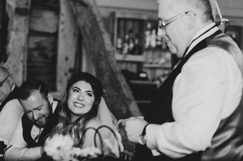 Father of the Bride Speech at Pim Hill Barn